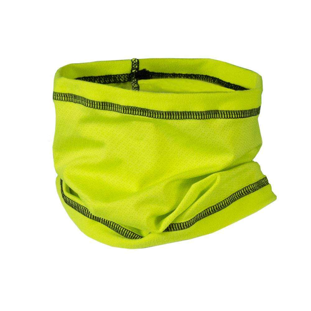 Unisex Reflective Neck Scruff in Flo Lime