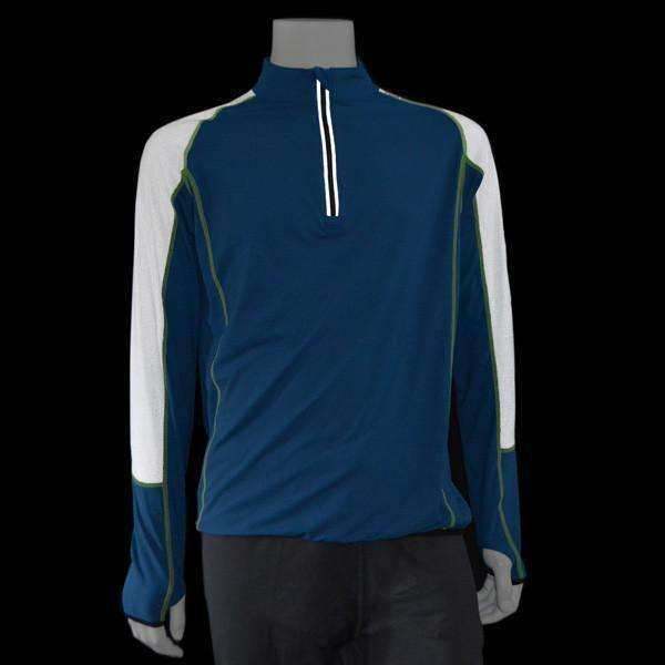 Vision Reflective Men's Pullover in College Blue/White