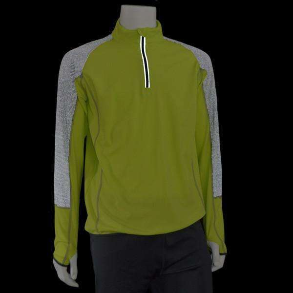 Vision Reflective Men's Pullover in Flo Lime/Graphite
