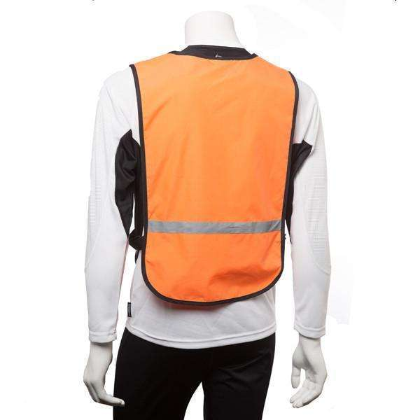 Vizi Reflective Bib in Safety Orange