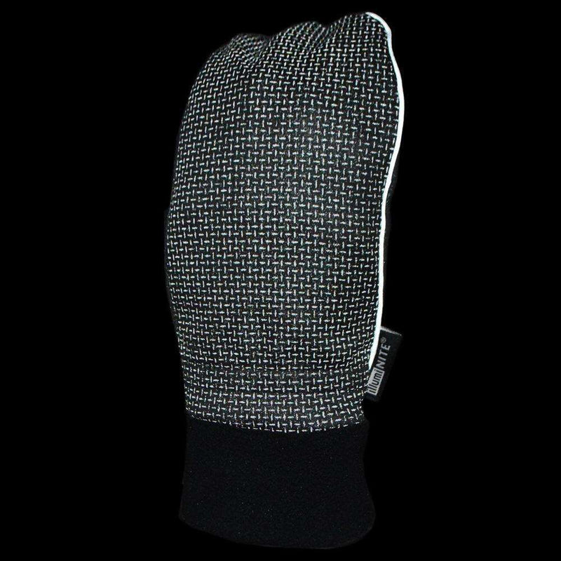 Wind Defy Reflective Mens Mitts in Black