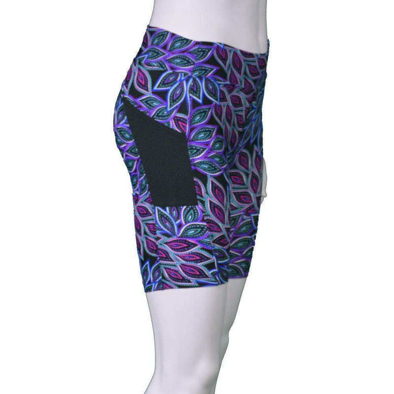 Women's Jammer Mid-length Reflective Running Short in Magma