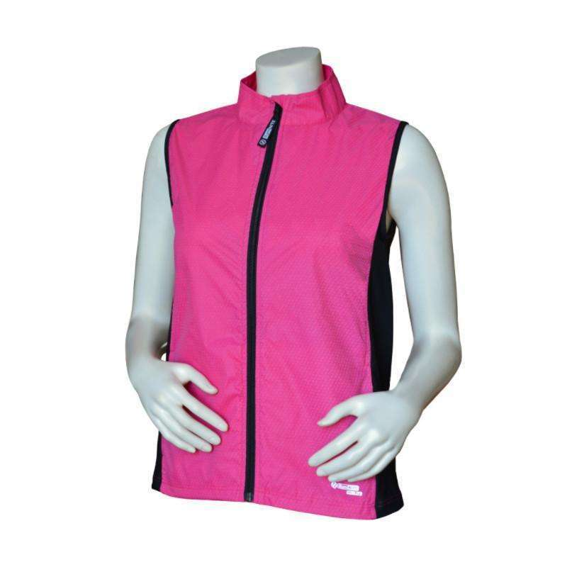 Men's Newport Packable Reflective Vest in Red