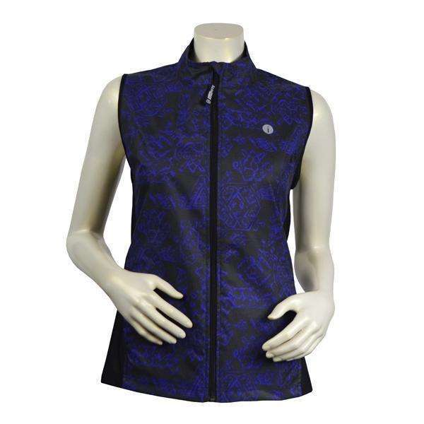 Women's Newport Packable Reflective Vest in Deep Purple