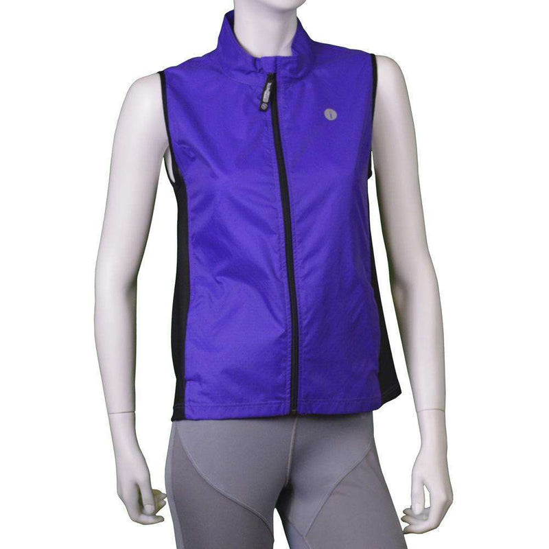 Men's Newport Packable Reflective Vest in Blue