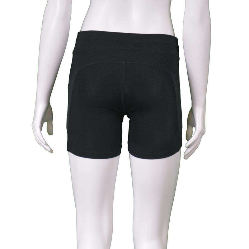 Women's Reflective Shortie in Black