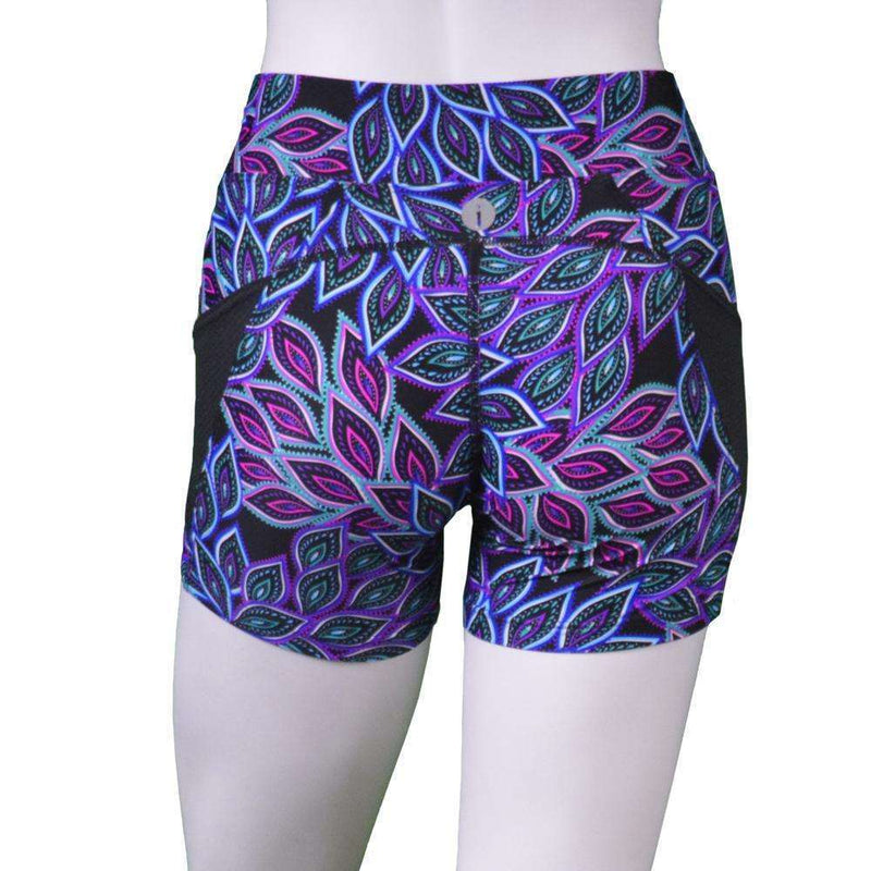 Women's Reflective Shortie in Feather/Black
