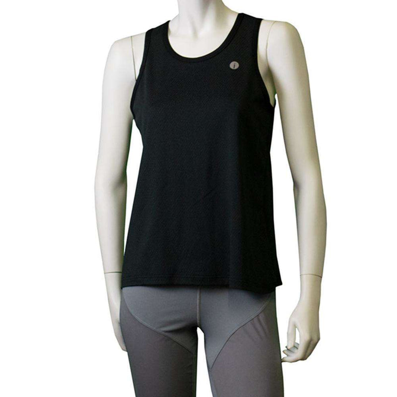Long Sleeve Reflective Women's Piper Tee in Afterglow/Graphite
