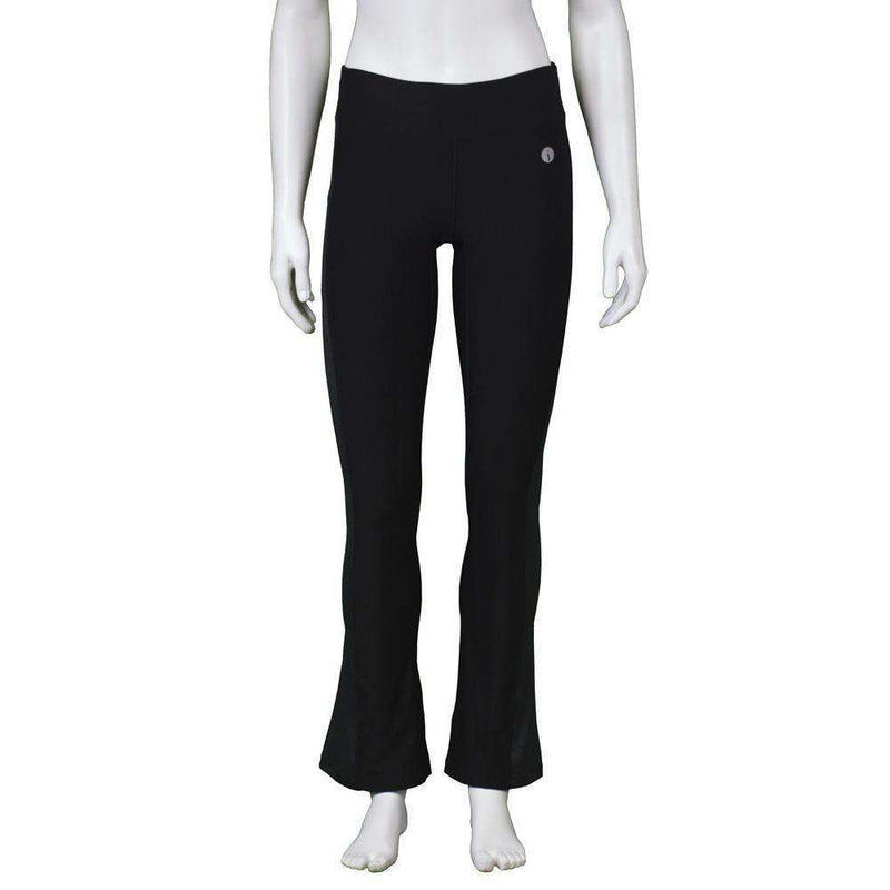 Women's Reflex Powerstretch Reflective Pant in Black