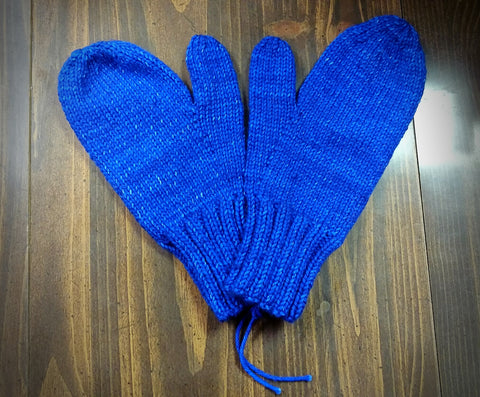 Two Needle Mittens- February 1, 8, & 15