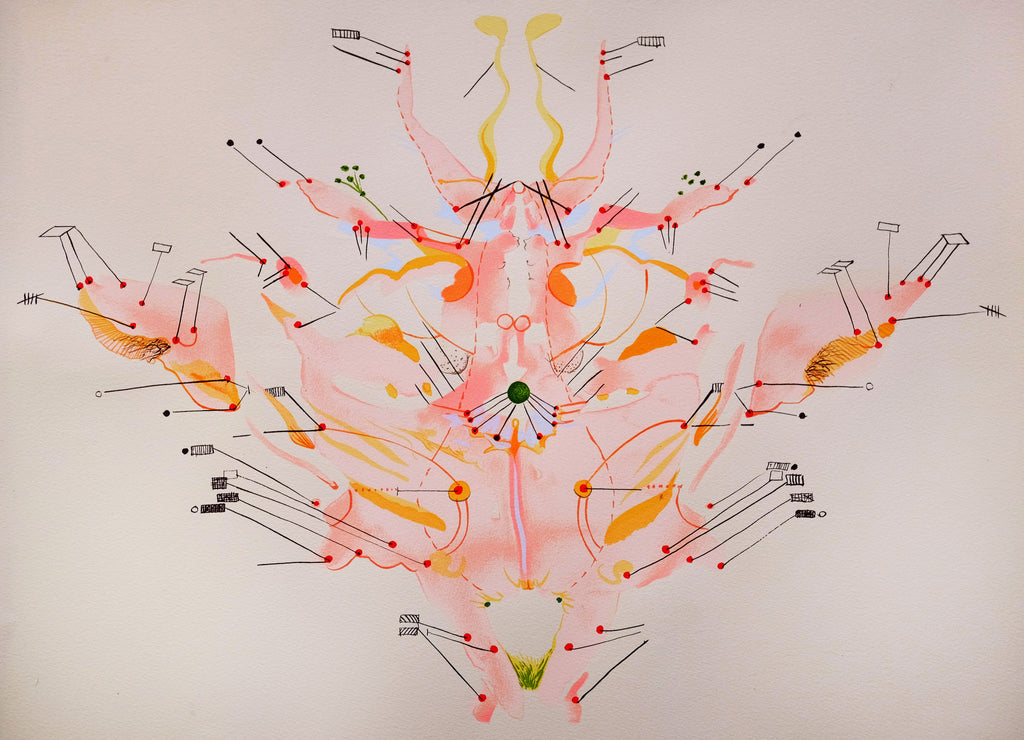 Molly Lowe: Mind Body Map