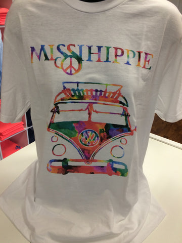 Missihippie Air Cooled Water Colored Tee