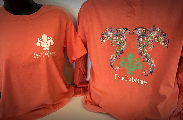 Fleur De Leisure Dolphins Unisex Short & Long Sleeve Tees