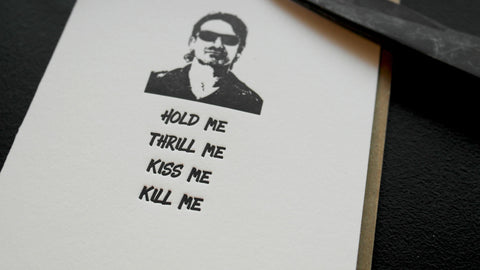 Hold Me. Thrill Me. Kiss Me. Kill Me.