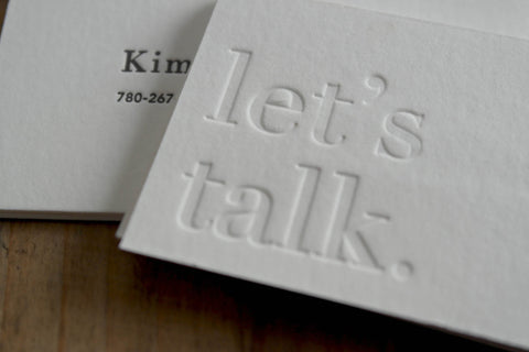 Personal or Business Cards - Double-Side Impression