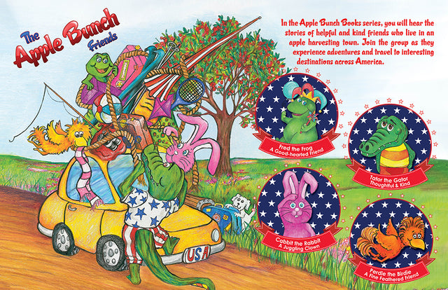 The Apple Bunch Friends | Apple Pie Publishing