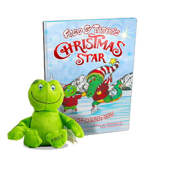 Fred & Tator's Christmas Star + Plush Fred the Frog