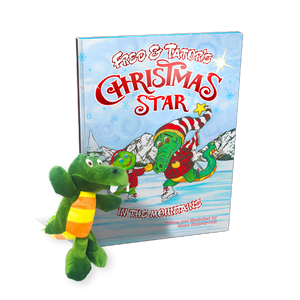 Fred & Tator's Christmas Star + Plush Tator the Gator