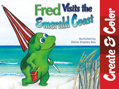 Fred Visits the Emerald Coast Create Color book