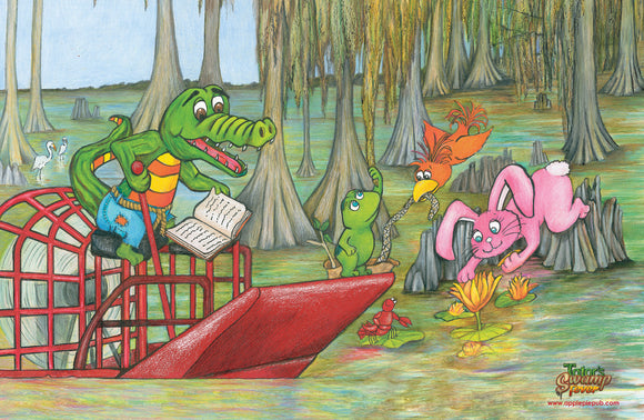 Tator's Swamp Fever Place Mat (Front)