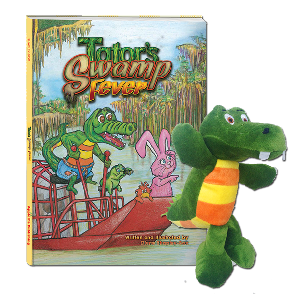 Tator's Swamp Fever Book + Plush Tator the Gator