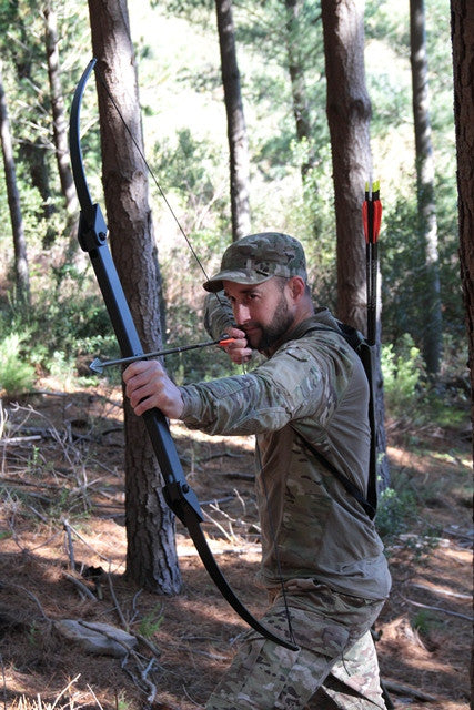 Survival Bow A Compact Folding Survival Bow Designed For