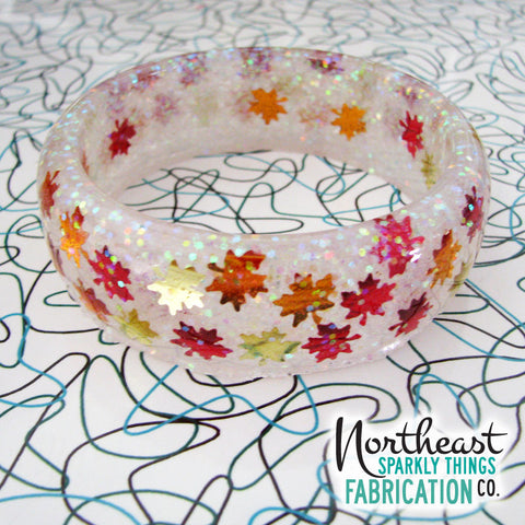 NEW ENGLAND AUTUMN - bangle