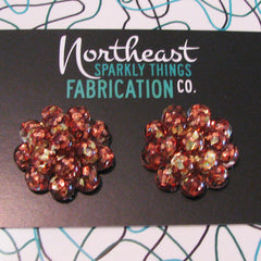 VERMONT MAPLE SYRUP - cluster earrings