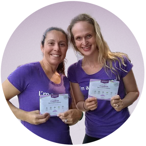 Dr. Amy Beckley and Ellen Schell, founders of Proov