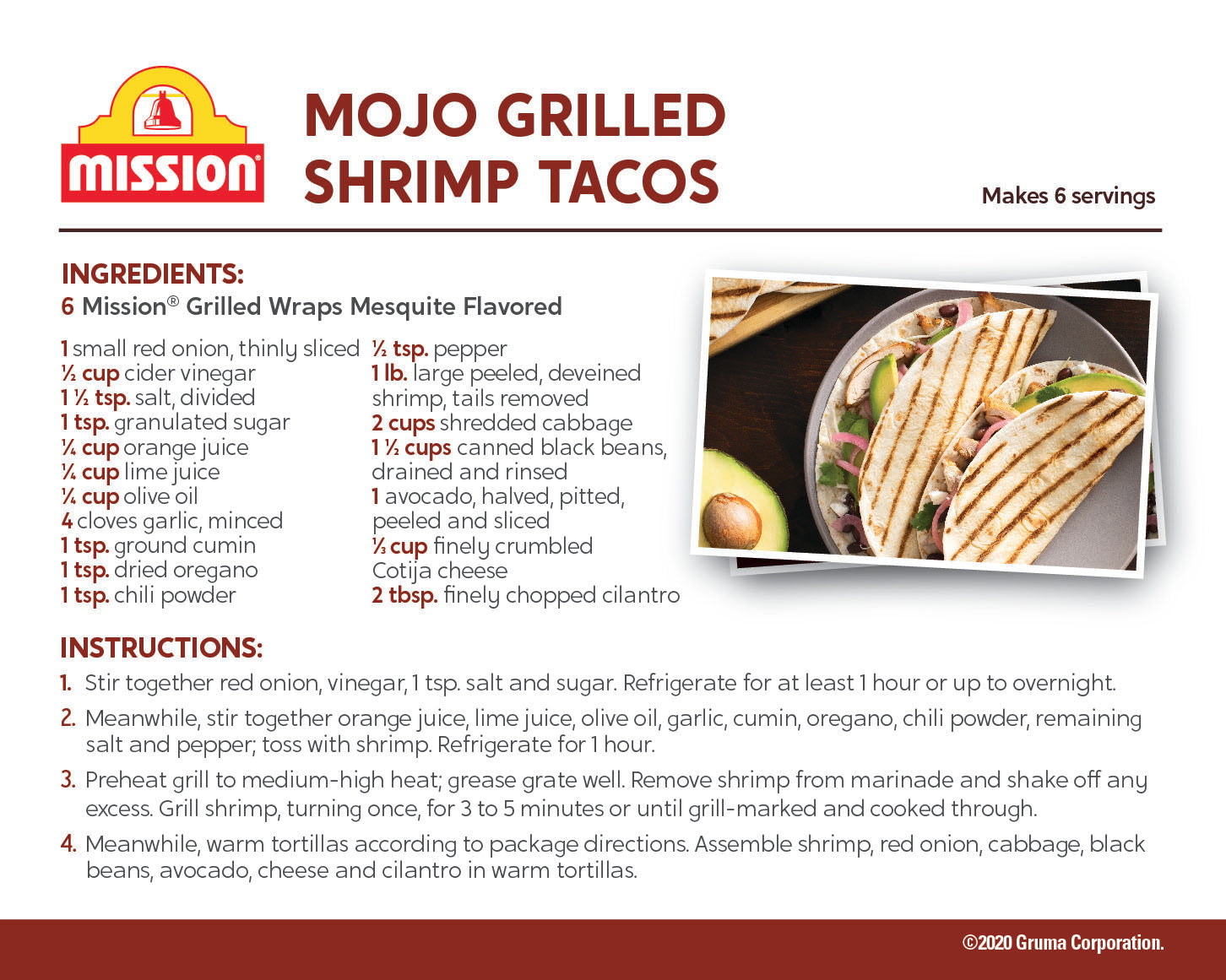 Mojo Grilled Shrimp Recipe
