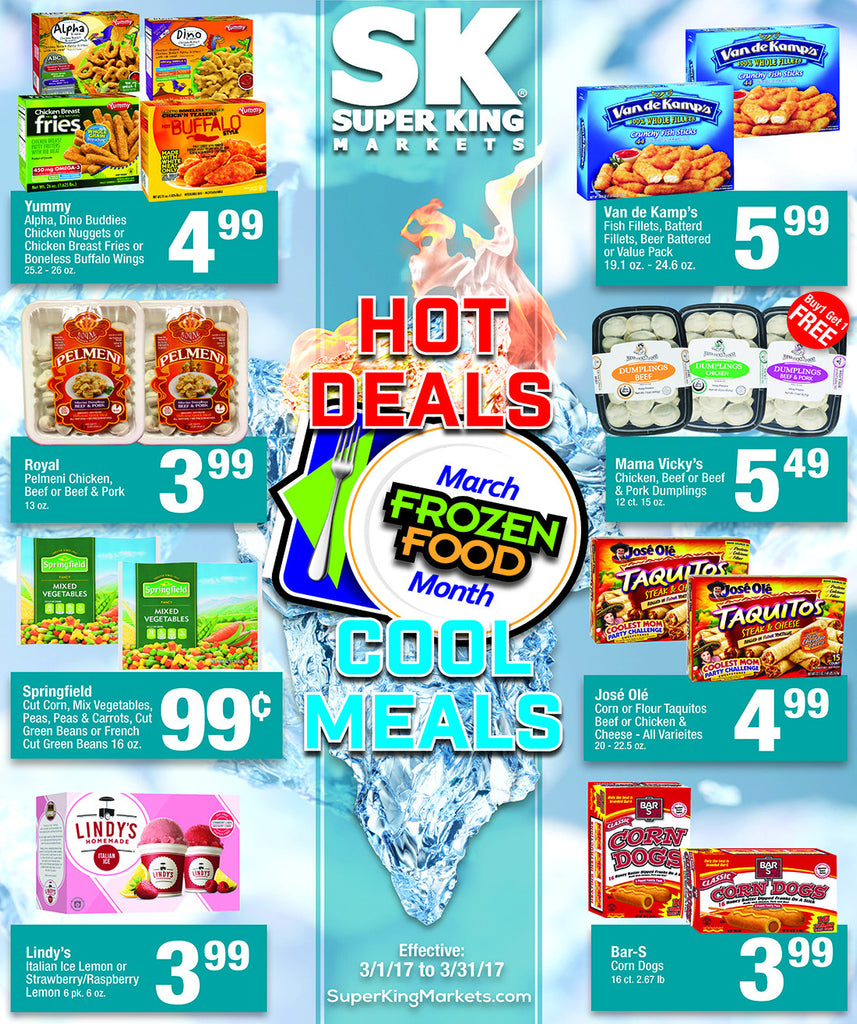 March Frozen Food Month page 1