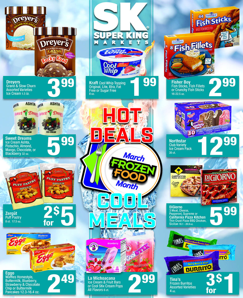 March Frozen Food Month page 2