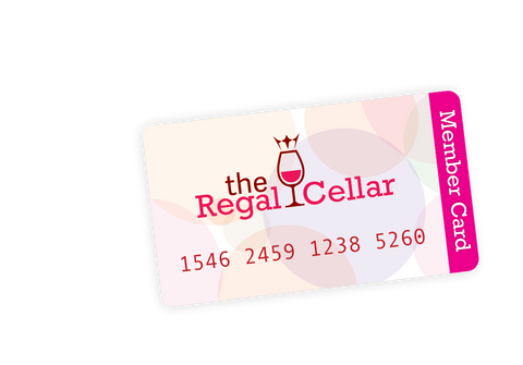 Regal cellar card