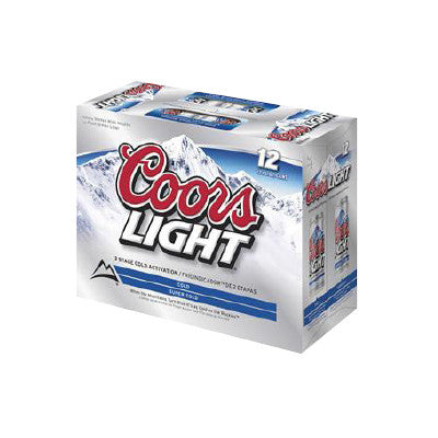 Coors Light 12 Pk. Image