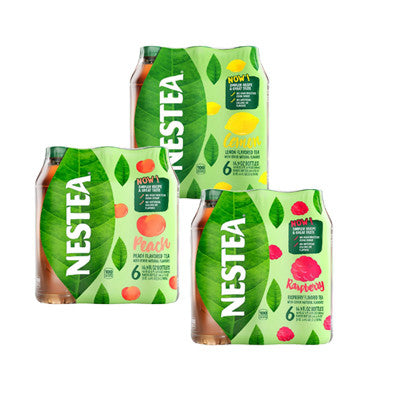 Nestea Ice Tea Assorted Flavors 6 Pk. Image