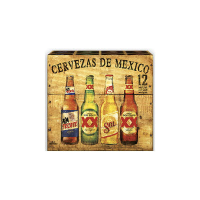 Beers of Mexico, 12 Pk. Image
