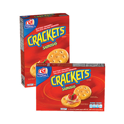 Gamesa Crackets Snack Crackers Image