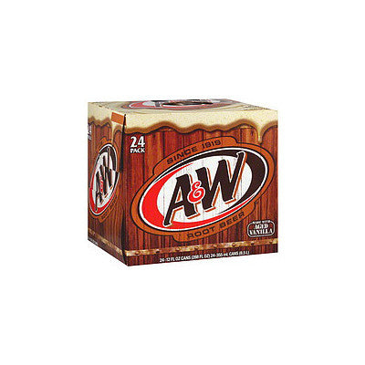 A&W Root Beer, 24 Pk. Image