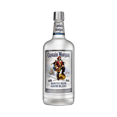Captain Morgan White Rum 1.75 Ltr. Image