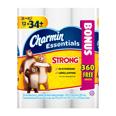Charmin Essentials Bath Tissue Bonus Package Image