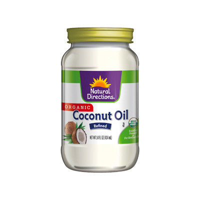 Natural Directions Refined Coconut Oil Image