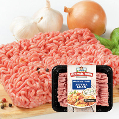 Farmer John Fresh Extra Lean Ground Pork Image