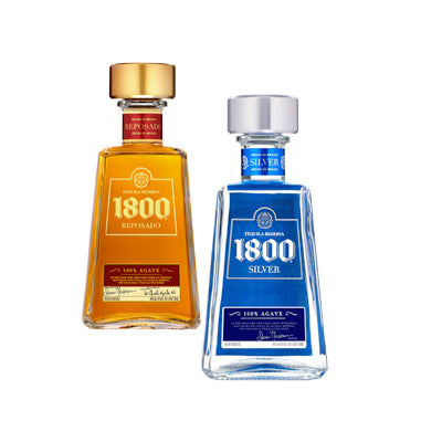1800 Reposado or Silver Tequila 750 ml. Image