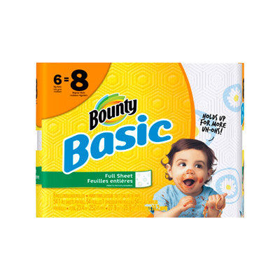 Bounty Basic Paper Towels Image