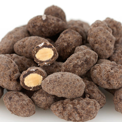 Dark Chocolate Salted Almonds Image