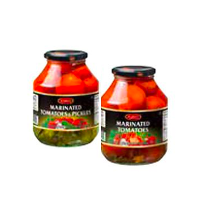 Zergut Marinated Tomatoes or Tomatoes and Pickles Image
