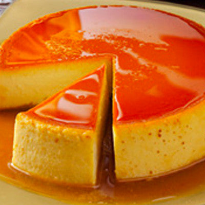 Traditional Caramelized Flan Large Image