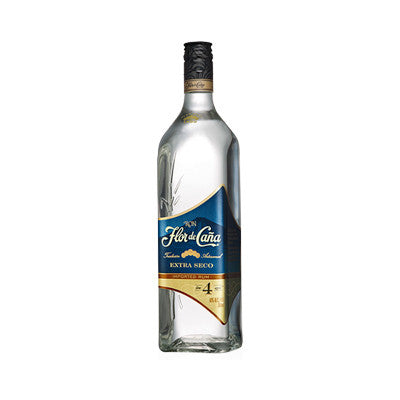 Ron Flor De Cana 4 Year Extra Seco Rum, 750 ml. Image