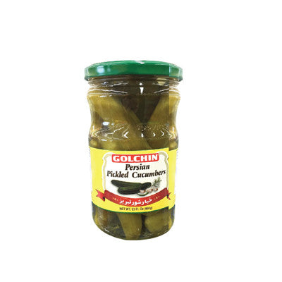 Golchin Persian Pickled Cucumbers Image