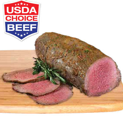 Fresh Beef Boneless Eye Round Roast, U.S.D.A CHOICE Image